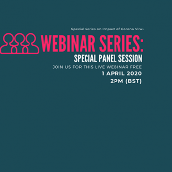 Special Webinar Series on COVID-19